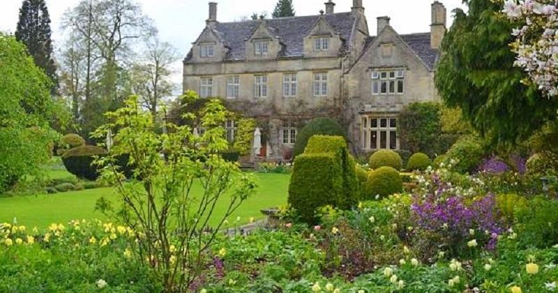 Англійський (пейзажний) стиль саду
