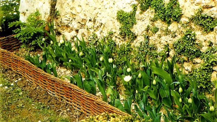 Декоративні плетені бережки
