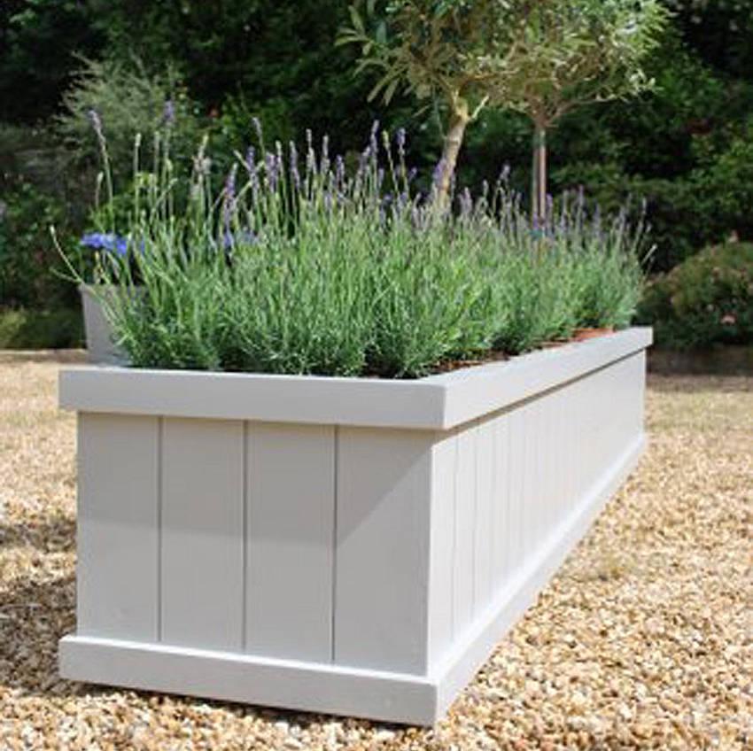 Дерев'яний ящик для квітів - власноруч