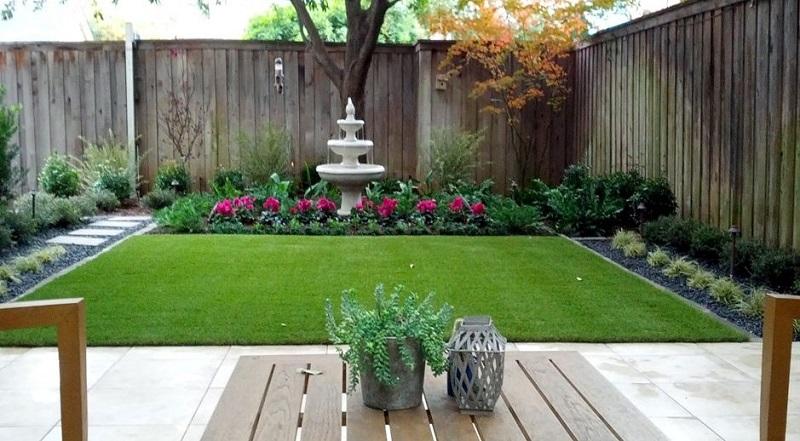 Ландшафтний дизайн маленького подвір'я - 30 ідей