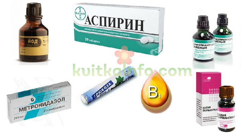 Ліки з аптечки, які можуть допомогти рослинам