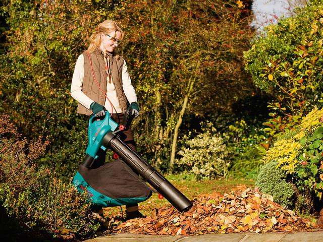 Принцип роботи та переваги користування садовим пилососом
