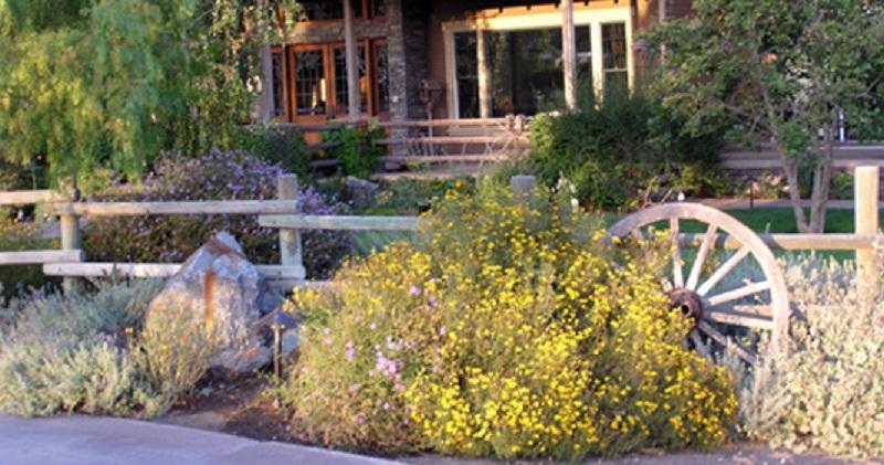 Ландшафтний стиль саду кантрі (сільський)