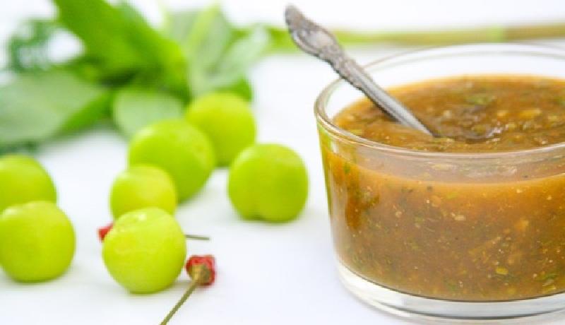 Грузинський сливовий соус Ткемалі - рецепт